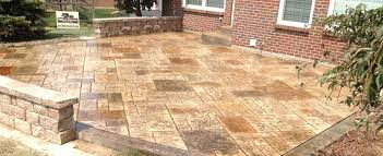 luxury cost for concrete patio for patio brown stamped concrete patios stamped concrete patios ideas 48 cost of stamped concrete patio edmonton