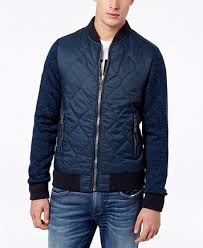 Superdry Men's Storm Mountain Quilted Bomber Jacket - Coats ... & Image 1 of Superdry Men's Storm Mountain Quilted Bomber Jacket Adamdwight.com