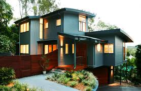 STUNNING INTERIOR And EXTERIOR MODERN HOME DESIGN HomesCornerCom - Interior exterior designs