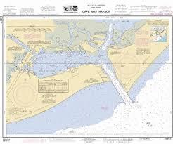 Tide Chart Cape May Nj Cape May Harbor Marine Chart Us12317_p679 Nautical