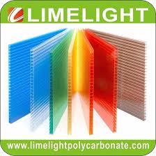polycarbonate sheet twinwall