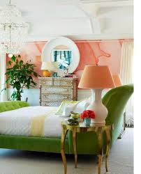 Peach Colored Bedrooms Peach And Green Bedroom Home Design Inspirations