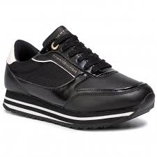 Tommy Hilfiger Shoes Size Chart Europe Sneakers Tommy Hilfiger Tommy Retro Branded Sneaker Fw0fw04305 Black 990