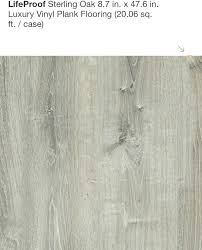 lifeproof vinyl sterling oak sterling oak luxury vinyl plank lifeproof vinyl lifeproof vinyl flooring stair nose