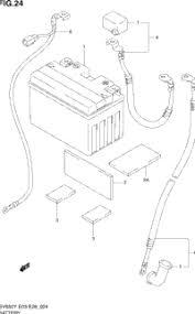 2000 suzuki sv650 oem parts babbitts suzuki partshouse battery
