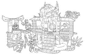 Lego couldn't have done it any better. Lego Ninjago Coloring Pages 100 Pieces Print For Free A4