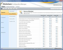 Workshare Configuration Options