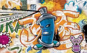 Graffiti Street Art Fotobehang Behang Bestel Nu Op Europostersnl
