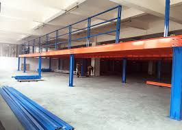 mezzanine floor office. 1000kg Heavy Duty Metal Industrial Mezzanine Floors For Warehouse / Office Floor S