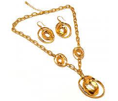 locket size photos fancy design big size locket pendant earring link gold plated