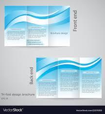 Tri Fold Brochure Design Brochure Template Design