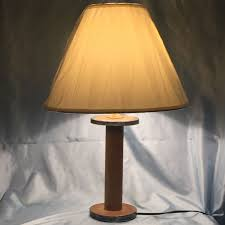 Vermont Country Lighting Vermont 1946 Spool Lamp Wwii Era From Wool Mill Farmhouse