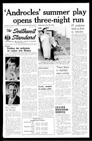 Page 149 - MSU Student Newspaper -- The Standard - Missouri State  University Digital Collections