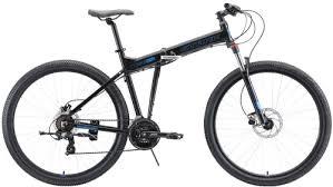 """Горный <b>велосипед Stark Cobra</b> 29.2 HD <b>20</b>""""/2020, черный/голубой ..."""