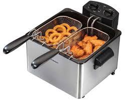 fryer deep electric machine double commercial counter top restaurant 1800w safe