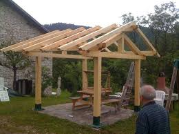 diy gazebo roof