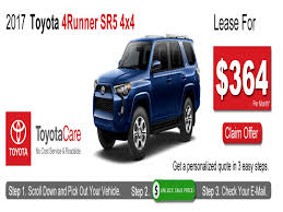 toyota lease deals ma toyota 4runner lease deals ma