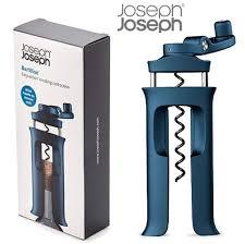 dels about joseph joseph barwise easy action winding cork blue wine bottle opener