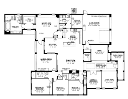 One Story Bedroom House Plans Stylish Story Bedroom Floor        One Story Bedroom House Plans Fascinating Five Bedroom Victorian Eclectic