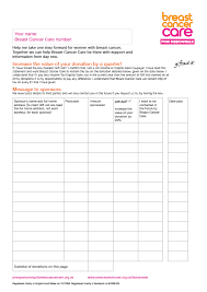 sponsorship forms for fundraising sponsorship forms templates sponsorship form template pals