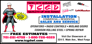 twin city garage doorTwin City Garage Door Co West Fargo ND 580781216   Yellowbook