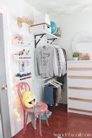 My Daughters Room Pre Teen Bedroom Refresh Reveal Open closets