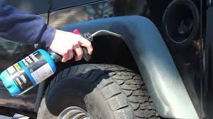 how to fix faded jeep fender flares