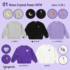 Spao Size Chart Pre Order Spao X Sailor Moon Moon Crystal Power Collection