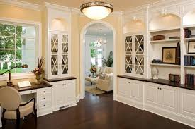 built in office cabinets home office built in office