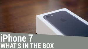 iPhone 7 Unboxing: Whats in the Box? - YouTube
