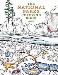 the national parks coloring book paperback june 7 2018