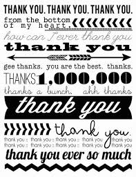 Thank You Black And White Printable 15 Aww Some Free Printables Thank You Cards On The Web