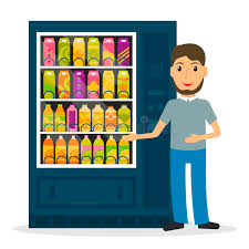 Vending Machine Clipart Amazing Vending Machine With Drinks Stock Vector Illustration Of Cold