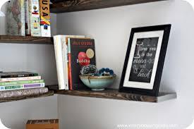 How To Hang Corner Shelves Extraordinary Diy Hanging Corner Shelves
