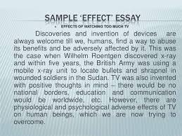 unit cause effect essay <br > 22