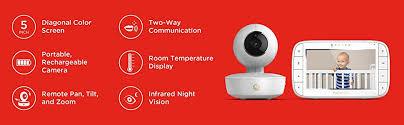 motorola 3 5 video baby monitor. motorola mbp36xl portable color screen video baby monitor, 5\ 3 5 monitor