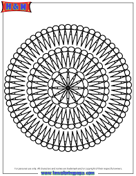 free printable mandala coloring pages h m coloring pages
