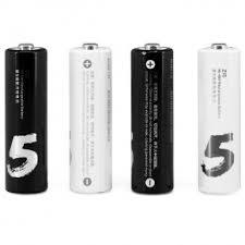 Аккумуляторные <b>батарейки</b> 4 шт. <b>Xiaomi</b> ZI5 <b>AA</b> 1800mAh - купить ...