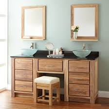 rustic double sink bathroom vanities. Confidential Double Bathroom Vanity With Makeup Area Rustic Sink Vanities Beefb R