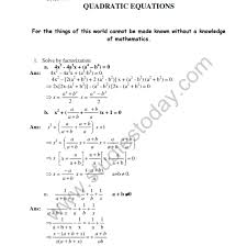 tags cbse hots question cbse class 10 quadratic equation