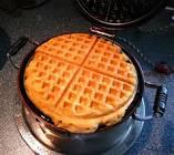 bourbon stout yam waffles