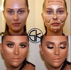 makeup ideas simple contour makeup easy way to contour your face beauty zone