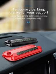 Baseus 2 in 1 <b>Car Temporary Parking Card</b> & Mobile Phone Holder ...