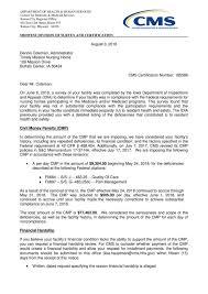 Feds Fine Buffalo Center Nursing Home 77k Citing Immediate