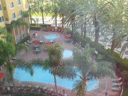 View from suite window Picture of Residence Inn Anaheim Resort