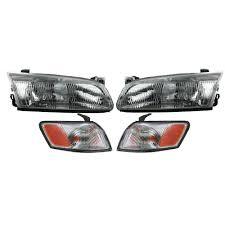 97 Toyota Camry Brake Light Headlights Headlamps Corner Parking Lights Kit Set For 97
