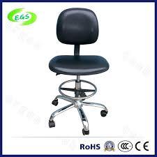 China High Quality ESD <b>Adjustable PU Leather</b> Laboratory Chair ...