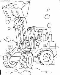 Disegni Da Colorare Camion Con Gru Fredrotgans