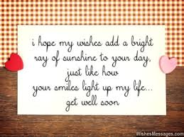 Get Well Quotes Stunning Get Well Soon Messages For Boyfriend Quotes And Wishes The Love
