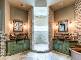 The good thing about open shower designs is that there are no rules or  limitations to